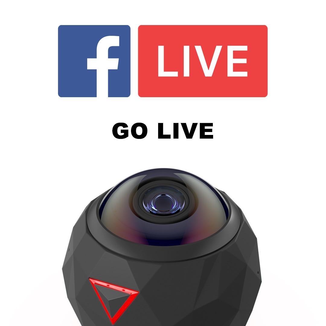 360度動画をFacebookでライブ配信
