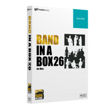 Band-in-a-Box 26 for Mac BasicPAK