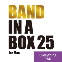 Band-in-a-Box 25 for Mac EverythingPAK