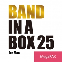 Band-in-a-Box 25 for Mac MegaPAK