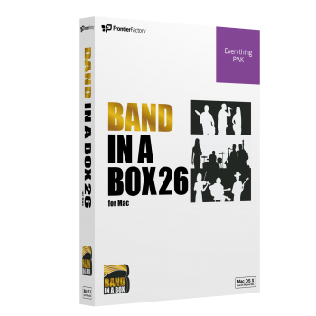Band-in-a-Box 26 for Mac EverythingPAK