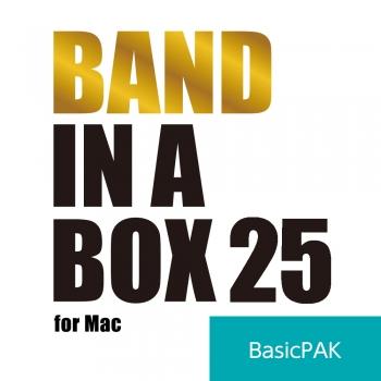 Band-in-a-Box 25 for Mac BasicPAK